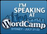 WordCamp Sydney July 21-22, 2012