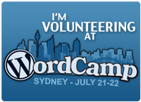 WordCampSydneyVolunteer