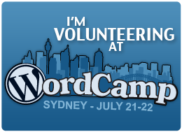 WordCampSydneyVolunteer