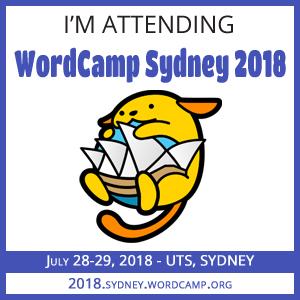 WordCamp Sydney 2018